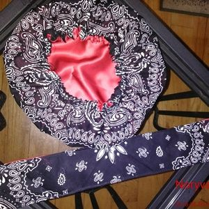 Accessories - Bandana bonnet and wrap